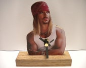 Bret Michaels Clock