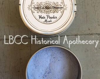 18th Century Blue Hair Powder- Charles Fox -Historical Label