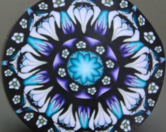Large Polymer Clay Flower Cane -'Fresh Start' (3C)