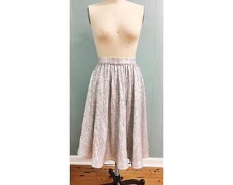Sequin Midi Skirt - Katee