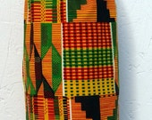 Kenya Print Plastic Bag Holder