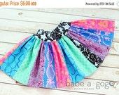 45% OFF Girls Skirt Pattern Scrappy Twirl -- NB -12 girls PDF Instant
