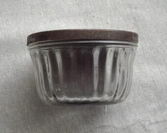 Vintage Kerr Jelly Jar With Original Lid