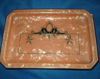 Vintage Art Deco Bakelite/Clluloid Vanity Tray