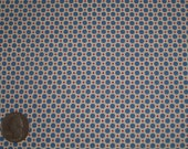 Royal Blue, Red, White Polka Dots 31142 70 Fabric by Lecien Retro 30's Child Smile