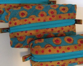 Craft and sewing organizers, zippered pouches for travel, handbag accessory, accessory for purse