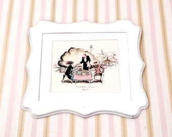 6x9 Vintage RaRe Full Color 1940's Classic MaRY PoPPiNS I'm the Waiter, you know? JoLLY HoLiDaY Bert and Mary Illustration. Mary Shepard