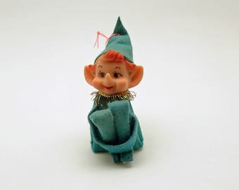 Vintage Christmas Ornament Pixie Kneehugger
