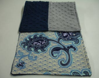 Arabesque Baby Burp Cloth 9 x 23 READY TO SHIP On Sale