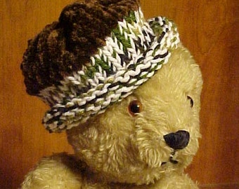 INFANT~BABY~Small CHILD'S Hand Knit Cap~~Keep Him/Her Nice and Warm with this Hand Knit Winter Cap~~Could be Worn Year Round~~Adorable!