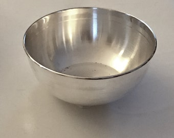 Indian Pure Silver T100 Bowl Sterling 9999