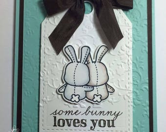 Some Bunny Loves You Greeting Card