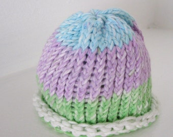 Handmade Crochet Doll Hat or Popsicle Beanie Hat Fits 18 inch doll