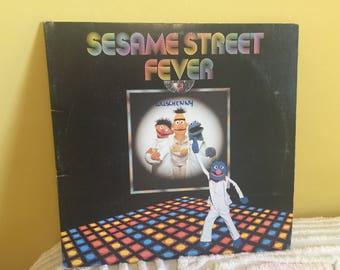 Sesame Street Fever Record vinyl Album GREAT CONDITION