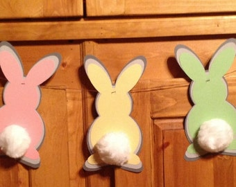 Bunny Rabbit Baby Shower Easter Bunting Banner
