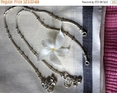 ON SALE Authentic Indian Snake Chain Anklet - single OR pair