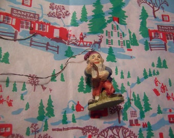 collectable anri italy gnome ornament figurine