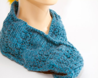 Turquoise Flying Gulls Cowl