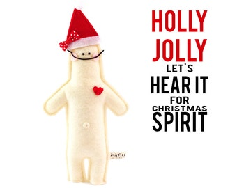 """Holly Jolly Doll and Storybook """"Let's Hear it for Christmas Spirit!"""""""