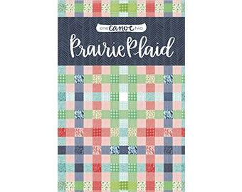 Prairie Plaid Quilt Pattern *Printed Pattern* // 1canoe2