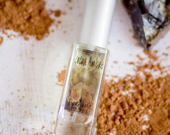 Cocoa Ambre Perfume | Artisan Perfume with Notes of Cocoa, Vanilla, Amber, Sugar, Tonka Beans, and Musk