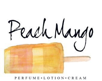 Peach Mango June's Scent of the Month | Sweet Summer Fruit Fragrance | Perfume, Lotion, Cream, Oil, and Scrubs