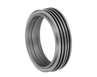 Stacking Ring Set, Titanium Rings, Mens Fashion Rings, Stackable Rings