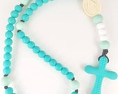 Turquoise & Mint Chews Life Soft Rosary