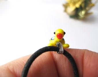 Yellow Turtle Pendant