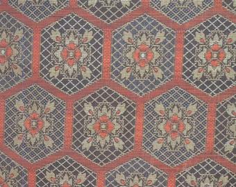Vintage haori S389,  oshima type silk,