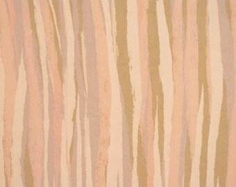 Vintage haori S390,  pink off white silk,
