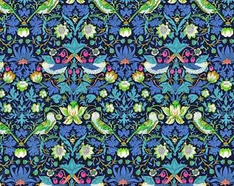 Liberty of London Tana Lawn fabric  Strawberry Thief  YARDAGE Liberty Tissu