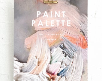 2017 Painter's Palette CALENDAR