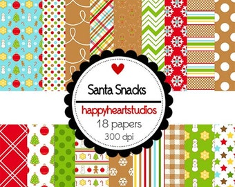 DigitalScrapbooking-SantaSnacks-InstantDownload