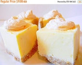 Sweet 16 SALE Julie's Fudge - LEMON MERINGUE Pie with Nilla Wafer Crust - Over Half Pound