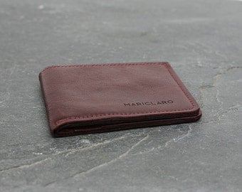 Mariclaro Billfold made from the interior of a 1999 Cadillac DeVille