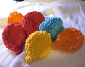 Set of 6 Eco Friendly Reusable Crocheted Water Balloons