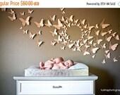 Christmas Sale 3D Butterfly Wall Art Home Decor Circle Burst Set of 80