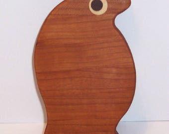 MINI Penguin Cutting Board Handcrafted from Cherry Hardwood