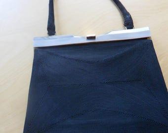 Vintage Black Corde Handbag