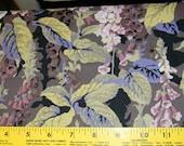 Philip Jacobs Fox Gloves Cotton Fabric In Grey Half Yard PWPJ010