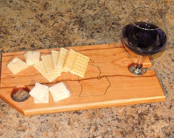 Wine and Cheese Board - Michigan
