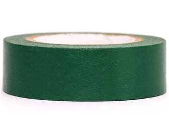 181968 mt Washi Masking Tape deco tape solid green