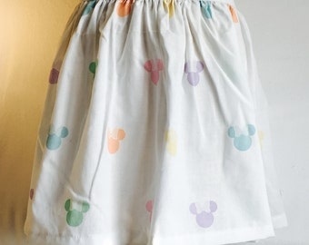 "Sweet Minnie Mouse Skirt  - XL 34"" - 40"" waist"