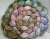 BFL/Tussah 75/25 Roving Combed Top - 5oz - Maybe Neutral 2