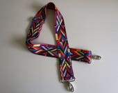 Colorful Aztec Design Adjustable Removable Replacement Bag Strap