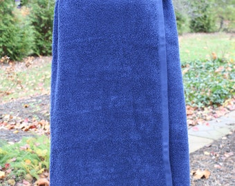 PLAIN Spa Towel Wrap with SNAPS not velcro - Graduation / Bridesmaids / Girls Trip Gifts
