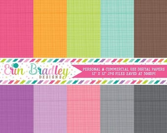 50% OFF SALE Digital Paper Pack Personal and Commercial Use Rainbow Criss Cross Scrapbooking Designs