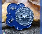 Death Star enamel lapel pin