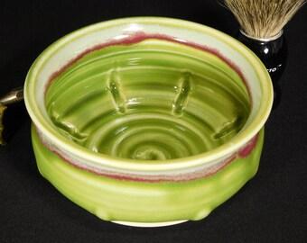Wet Shaving Dish - Clay Shaving Dish - Shaving Soap Dish - Wetshave Dish - Pottery Shaving Dish - Bowl For Shaving - InStock